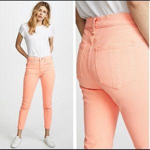 Rag & Bone Prarie Sun High Rise Skinny Jeans NEW